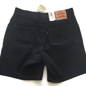 Levi's Shorts - Relaxed Fit 550 Levi Black Shorts | 10